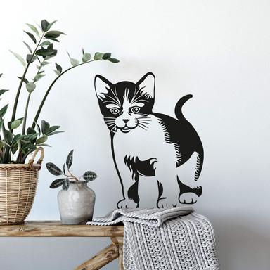 Wandtattoo Kätzchen