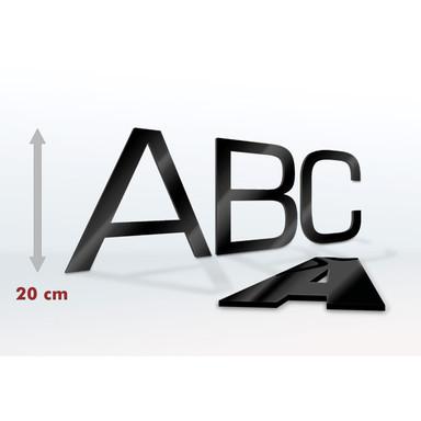 Acrylglas Buchstaben 20 cm Buchstabenhöhe