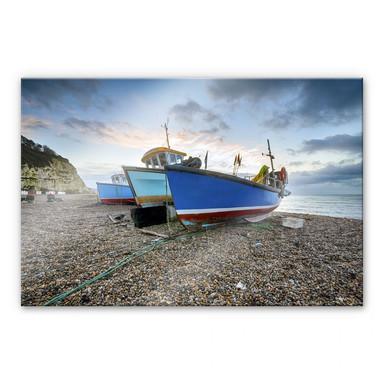 Acrylglasbild Fischereiboote