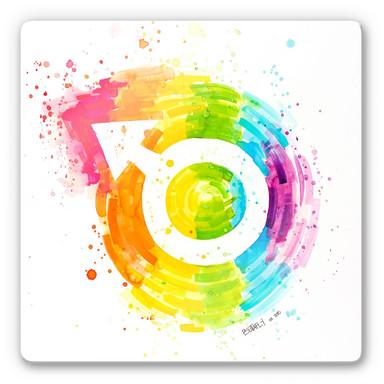 Glasbild Buttafly - Social Movement - Male