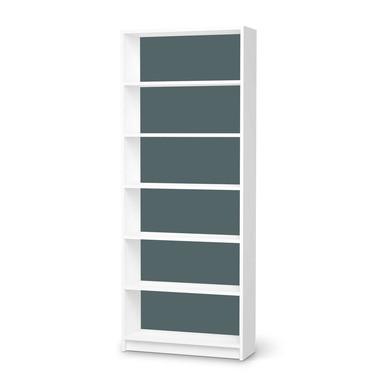 Klebefolie IKEA Billy Regal 6 Fächer - Blaugrau Light- Bild 1
