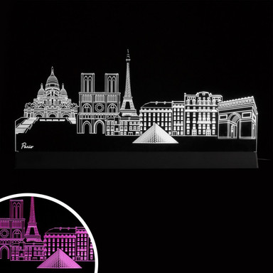 LED Skyline Paris