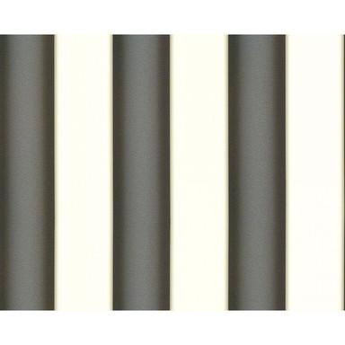 Mustertapeten Versace Wallpaper Tapete Herald Metallic, Schwarz, Weiss