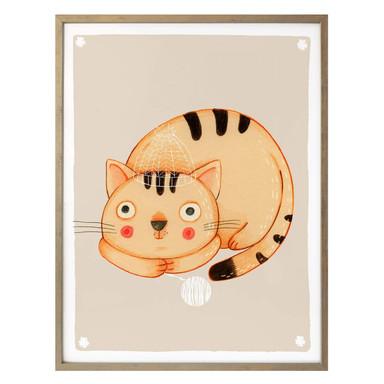 Poster Loske - Katze