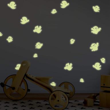Leuchtsticker Witzige Geister