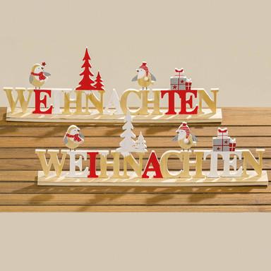 Aufsteller Weihnachten - Fieti