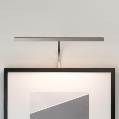 LED Bilderleuchte Mondrian in Nickel-Matt 4.8W 161lm 400mm