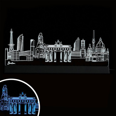 LED Skyline Berlin