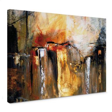 Leinwandbild Niksic - Licht und Landschaft