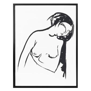 Poster Jonas - Die nackte Frau