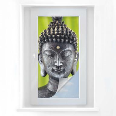 Sichtschutzfolie Green Buddha - Panorama