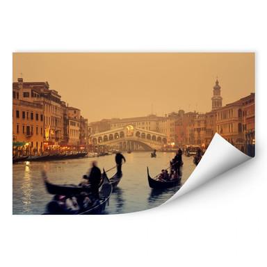 Wallprint Sunset in Venice