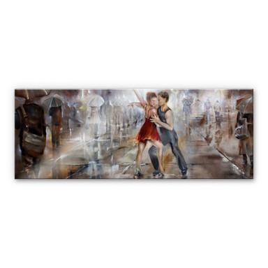 Acrylglasbild Schmucker - It's raining again - Panorama