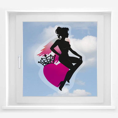 Fensterbild LA Ink Good Girl