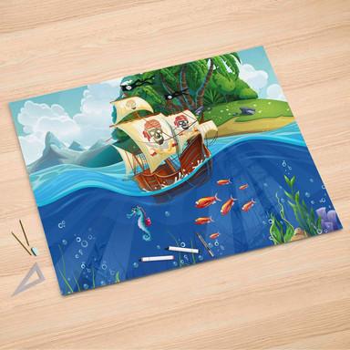 Folienbogen (150x100cm) - Pirates