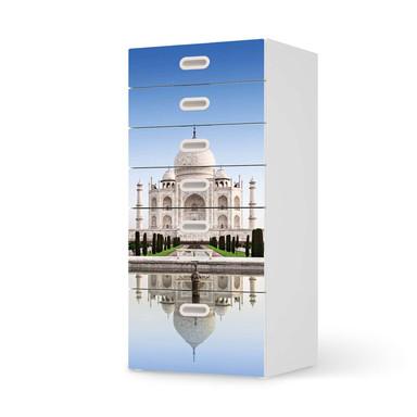 Klebefolie IKEA Stuva / Fritids Kommode - 6 Schubladen - Taj Mahal- Bild 1
