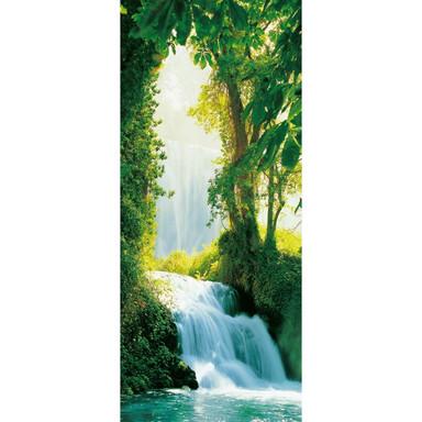 Türtapete Zaragoza Falls - 86x200cm - Bild 1