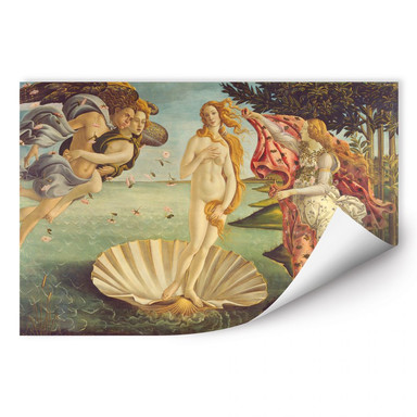 Wallprint Botticelli - Geburt der Venus