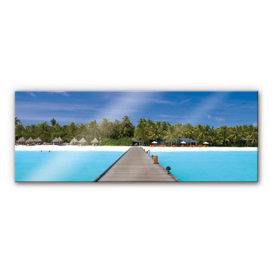 Acrylglasbilder Karibik - Panorama