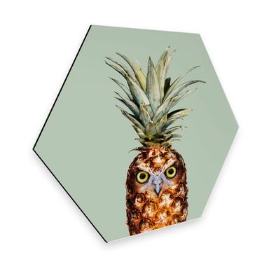 Hexagon - Alu-Dibond - Loose - Ananaseule