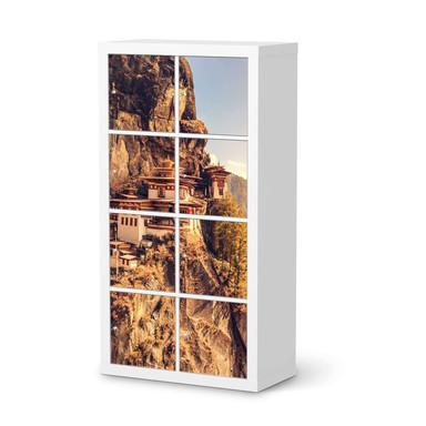Klebefolie IKEA Expedit Regal 8 Türen - Bhutans Paradise- Bild 1