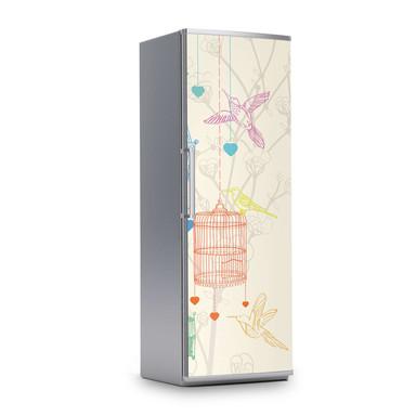 Kühlschrankfolie 60x180cm - Birdcage- Bild 1