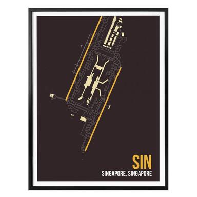 Poster 08Left - SIN Grundriss Singapur
