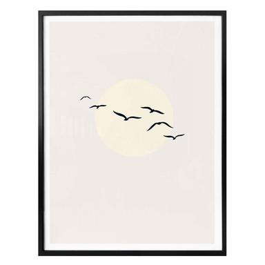 Poster Kubistika – bezaubernder Himmel