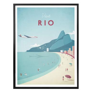 Poster Rivers - Rio de Janeiro