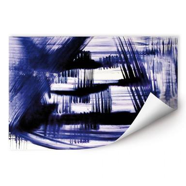 Wallprint Preussisch Blau