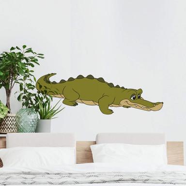 Wandsticker Benjamin Blümchen Krokodil Karlo