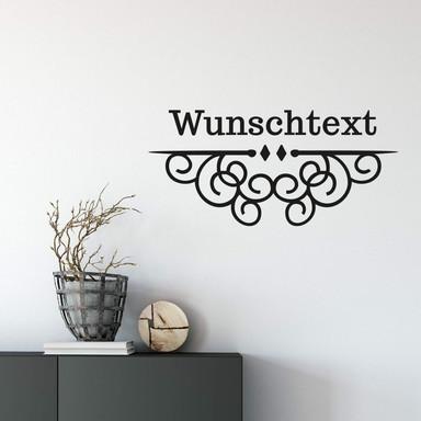 Wandtattoo & Name Ornament