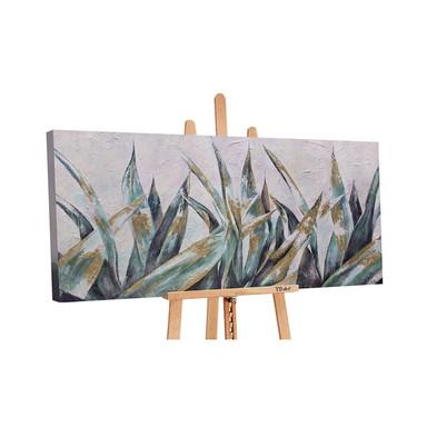 Acryl Gemälde handgemalt Herbstnuancen 140x70cm - Bild 1