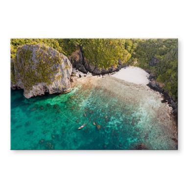 Acrylglasbild Colombo - Geheimnisvolle Bucht