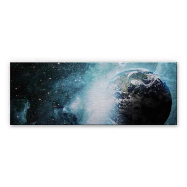 Alu Dibond Bild In einer fernen Galaxie Panorama