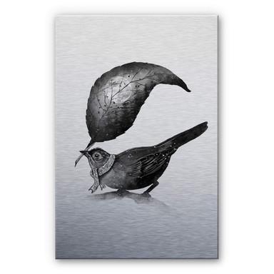 Alu-Dibond-Silbereffekt Nicebleed - The Messenger