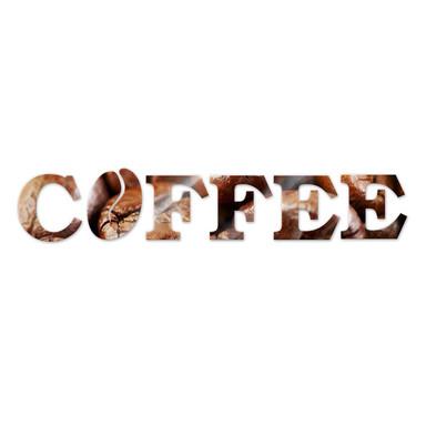 Dekobuchstaben Coffee