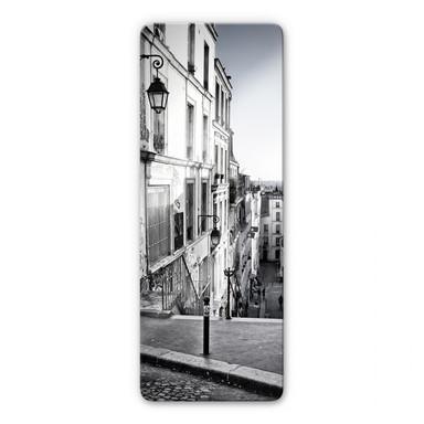 Glasbild Montmartre - Panorama
