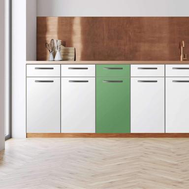 Küchenfolie - Unterschrank 40cm Breite - Grün Light