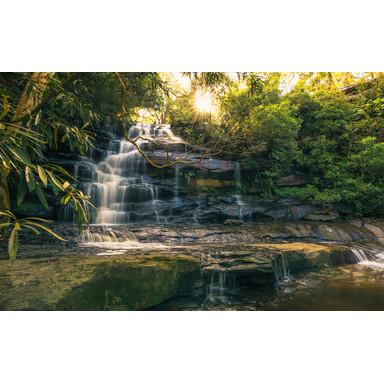 Fototapete Golden Falls