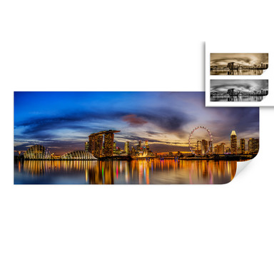 Wallprint Xie - Lights in London - Panorama