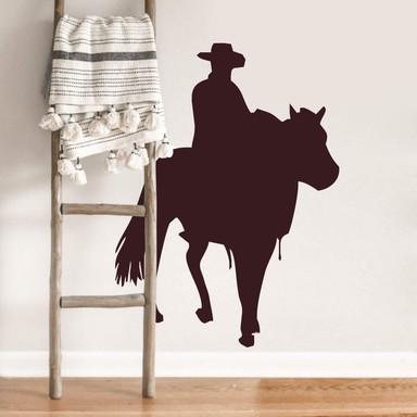 Wandtattoo Cowboy 3