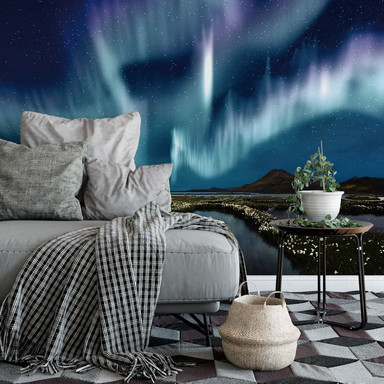 Fototapete Northern Light - 240x260cm - Bild 1