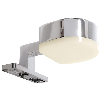 LED Möbelaufbauleuchte Gienah in Silber und Chrom 3.2W 120lm