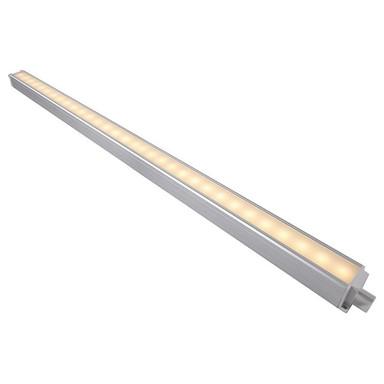 LED Unterbauleuchte Eckform in Silber 10W 850lm 850mm