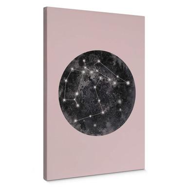 Leinwandbild Hariri - Constellation Pink