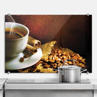 Spritzschutz Coffee 1