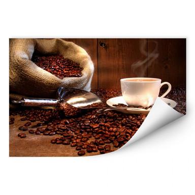 Wallprint Kaffeegenuss