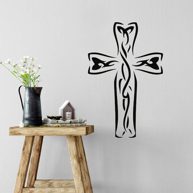 Wandtattoo Kreuz