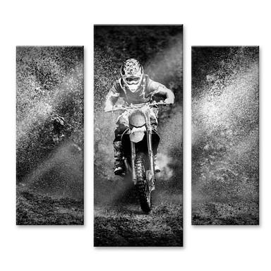 Acrylglasbild GS - Dirty Hobby (3-teilig)